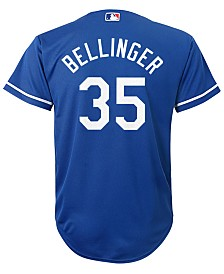 Majestic Cody Bellinger Los Angeles Dodgers Player Replica Cool Base Jersey, Big Boys (8-20)