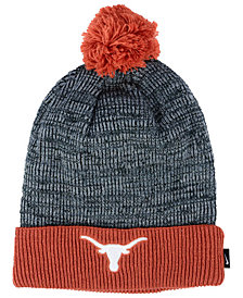 Nike Texas Longhorns Heather Pom Knit Hat