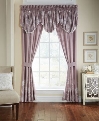 "CLOSEOUT! Liliana Pole Top Drapery 41"" x 84"" Window Panels"