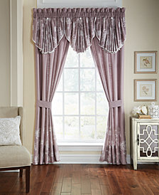 "CLOSEOUT! Croscill Liliana Circle 42"" x 25"" Window Valance"