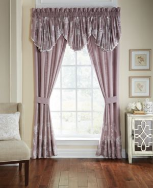 "Croscill Liliana Pole Top Drapery 41"" x 84"" Window Panels Bedding 5461449"