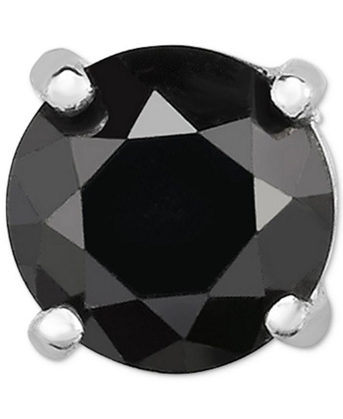Macy's - Diamond Single Stud Earring (1/2 ct. t.w.) in 14k White Gold