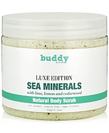 buddy scrub Sea Minerals Natural Body Scrub, 12.35-oz.