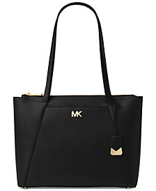 Michael Kors Mad Crossgrain Leather Tote