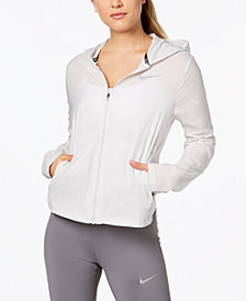 Nike Shield Water-Repellent Convertible Running Jacket