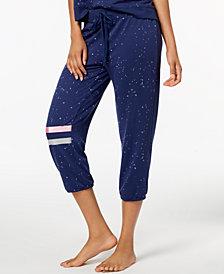 Jenni by Jennifer Moore Foil-Striped Jogger Pajama Pants, Created for Macy's