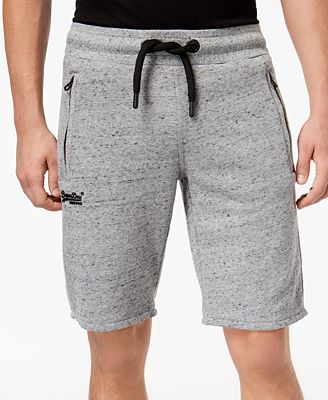 Superdry Men's Orange Label Urban Flash Slim-Fit Logo-Print Jogger Shorts