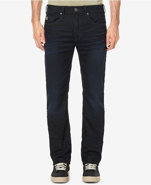 Men's Fred X Slim Straight Fit Stretch Jeans