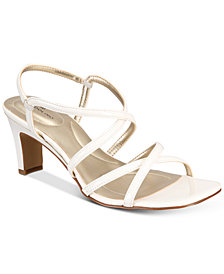 Bandolino Obexx Slip-On Strappy Sandals