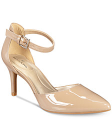 Bandolino Ginata d'Orsay Pointed Toe Pumps