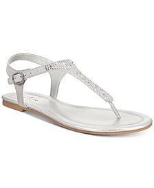 Bandolino Kyrie Embellished Flat Sandals