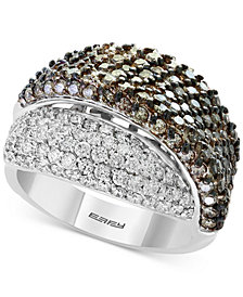 EFFY® Diamond Overlap Statement Ring (2-7/8 ct. t.w.) in 18k White Gold