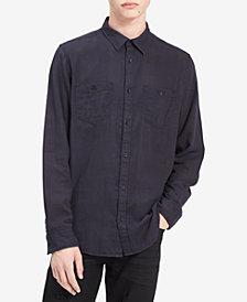 Calvin Klein Jeans Men's Check-Print Shirt