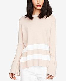 RACHEL Rachel Roy Bell-Sleeve Tie-Back Sweater, Created for Macy's