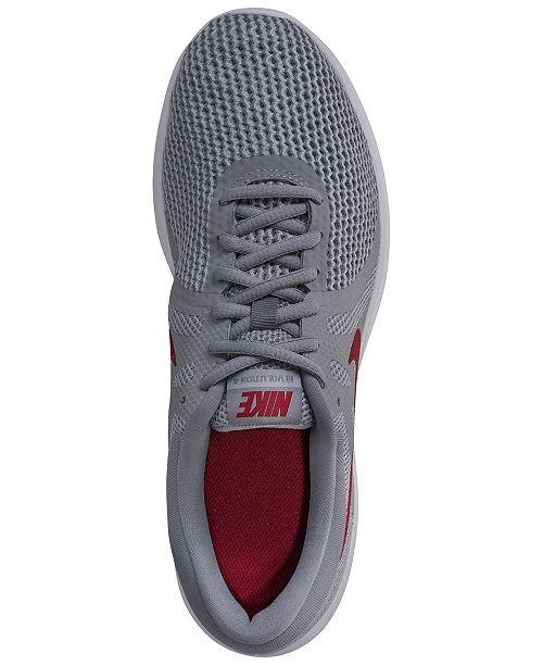 1273bc0a8d7a ... Nike Men s Revolution 4 Wide Width (4E) Running Sneakers from Finish ...
