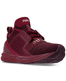 Puma Men's Ignite Limitless Knit Casual Sneakers from Finish Line