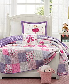 Twirling Tutu 4-Pc. Coverlet Sets