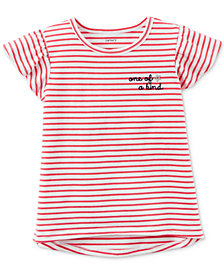 Carter's Poppy Stripe Shirt, Little Girls & Big Girls