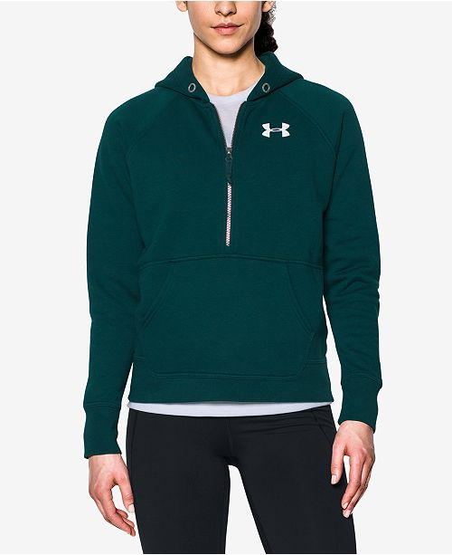 7071b1da94 Under Armour Favorite Fleece Half-Zip Hoodie   Reviews - Tops ...