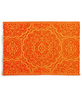 Global Geo Rib Poppy Placemat