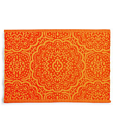 Fiesta Global Geo Rib Poppy Placemat