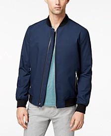 Men's Ribbed Bomber Jacket, Created for Macy's