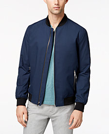 Alfani Men's Ribbed Bomber Jacket, Created for Macy's