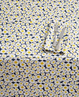 "CLOSEOUT! Dense Daisy 102"" Tablecloth"