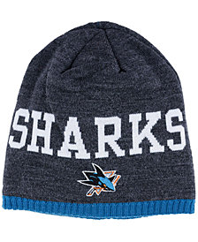 adidas San Jose Sharks Heather Beanie