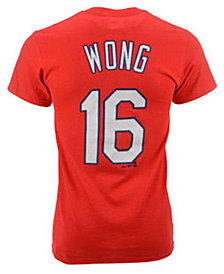 Majestic Kolten Wong St. Louis Cardinals Official Player T-Shirt, Little Boys (4-7)