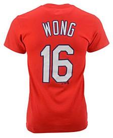 Majestic Kolten Wong St. Louis Cardinals Official Player T-Shirt, Little Boys (4-7)