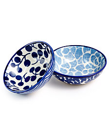 Martha Stewart Collection 2-Pc. Soy Sauce Bowl Set, Created for Macy's
