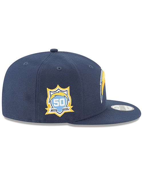 best sneakers 80ecb 77ab7 ... cheap new era. los angeles chargers anniversary patch 9fifty snapback  cap. be the first