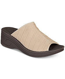 Easy Street Airy Wedge Sandals