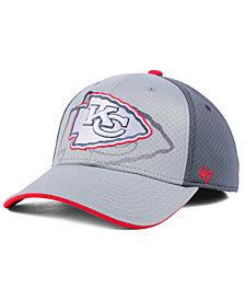 '47 Brand Kansas City Chiefs Greyscale Contender Flex Cap