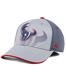 '47 Brand Houston Texans Greyscale Contender Flex Cap