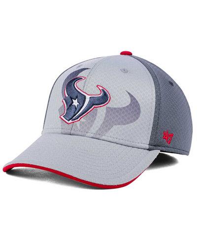 '47 Brand Houston Texans Greyscale Contender Flex Cap