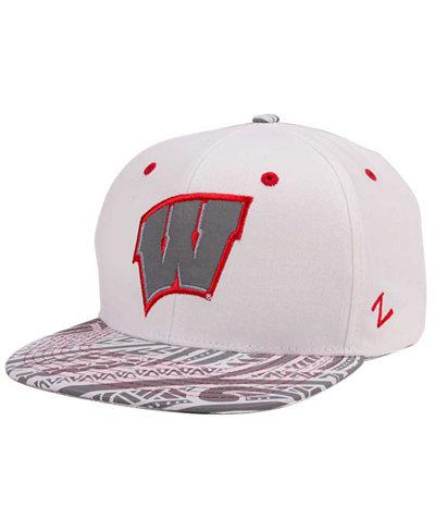 Zephyr Wisconsin Badgers Lahaina Snapback 2 Cap
