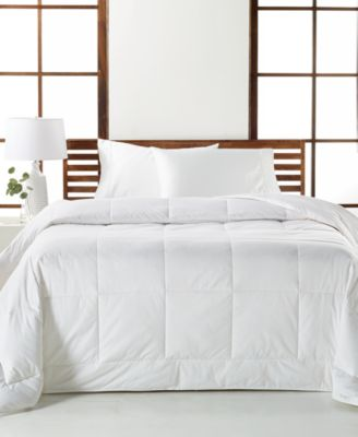 CLOSEOUT! White Down Medium Weight Full/Queen Comforter, Created for Macy's