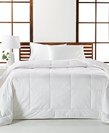 CLOSEOUT! Hotel Collection White Down Medium Weight Comforter Collection, Created for Macy's