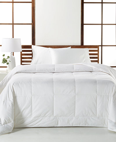 CLOSEOUT! Hotel Collection White Down Medium Weight Full/Queen Comforter, Created for Macy's