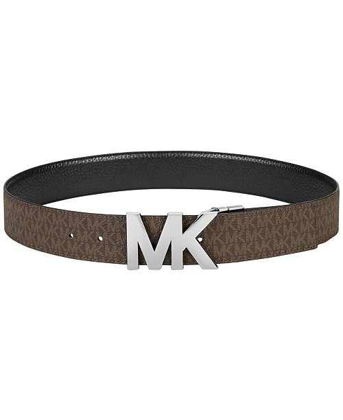 58563b93e45f Michael Kors Reversible Signature Plaque Belt   Reviews ...