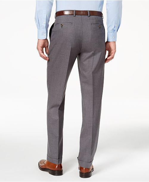 01c0f8acefb Lauren Ralph Lauren 100% Wool Double-Reverse Pleated Dress Pants ...