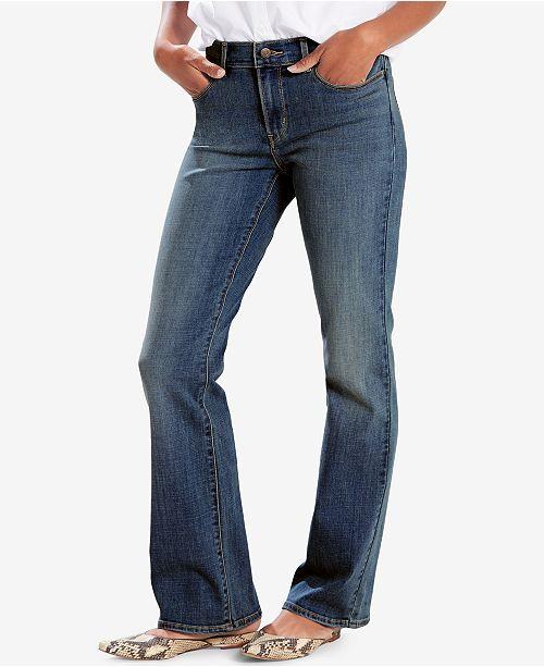 6167e1d6 Levi's Classic Bootcut Jeans & Reviews - Jeans - Women - Macy's