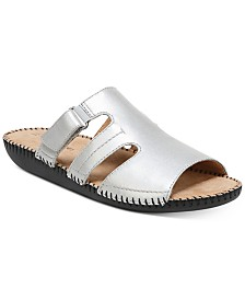 f57b5ae4f94f Naturalizer Serene Flat Sandals   Reviews - Sandals   Flip Flops - Shoes -  Macy s