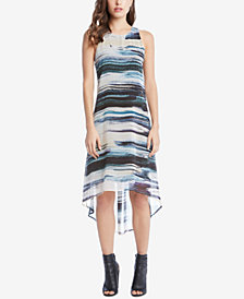 Karen Kane Printed High-Low Dress