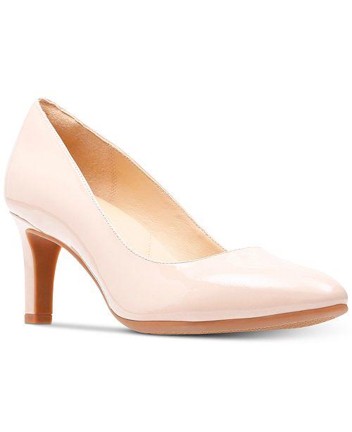 5e1b34025755 Clarks Women s Calla Rose Pumps   Reviews - Pumps - Shoes - Macy s