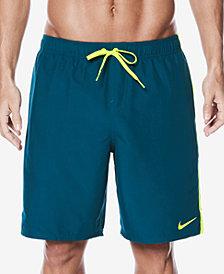 Nike Men's Big & Tall Diverge Colorblocked 9'' Swim Trunks