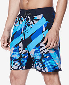 Nike Men's Breaker Printed 18'' Board Shorts