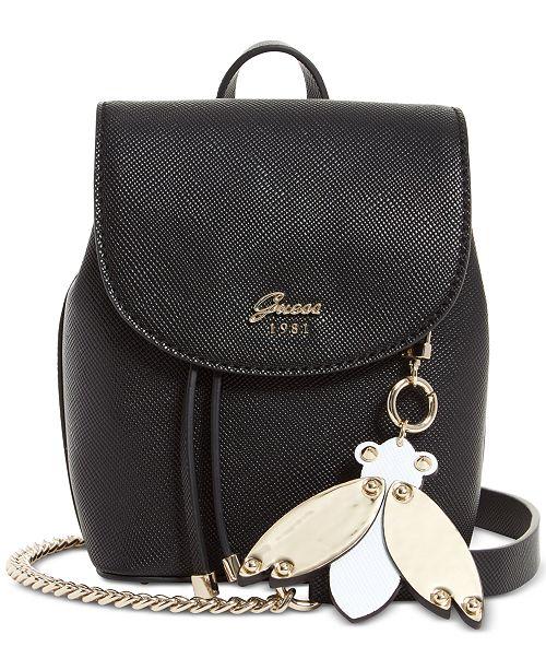 48a57c38c0 GUESS Varsity Pop Mini Pin Up Convertible Backpack   Reviews ...